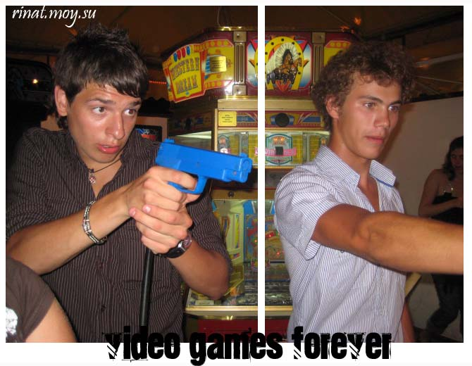 video games forever